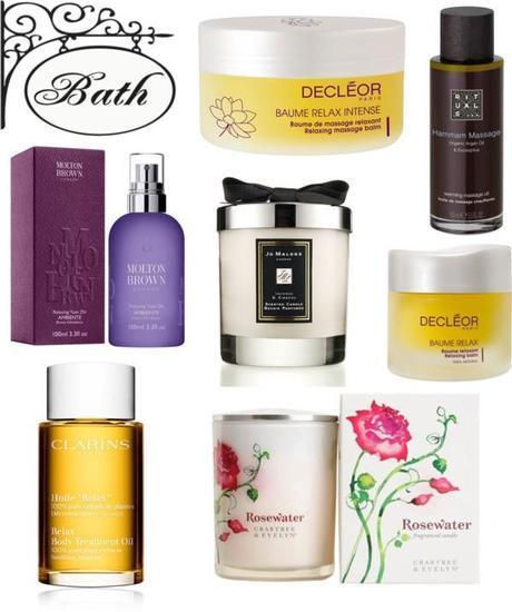 productos cosméticos para relajarse