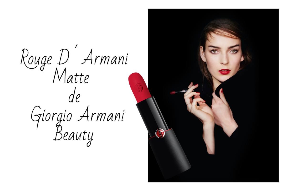 Rouge D´Armani Matte de Giorgio Armani Beauty